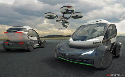futuristic flying cars italdesign and airbus reveal futuristic flying car concept