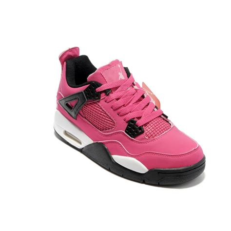 pink sneakers air 4 air sole low black pink sneakers for cheap