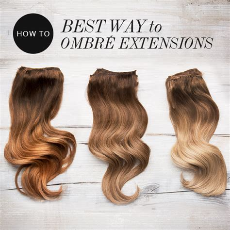 best way to put in hair extensions ombre extensions buy remy indian hair