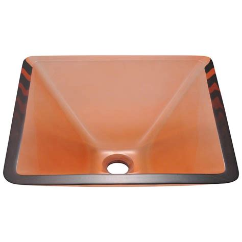 mr direct bathroom sinks mr direct glass vessel in coral 603 coral the home