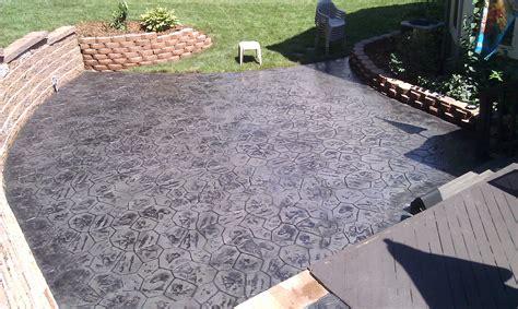 Home Decor: Stamped Concrete Patio Ideas In Washington Twp