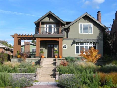 home plans seattle seattle craftsman home awesome exteriors pinterest