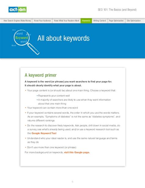seo research papers seo 101 beyond the basics