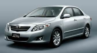 Toyota Coroller Toyota Corolla Altis Car Models