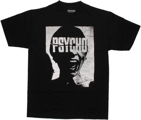 Tshirt Psycho psycho name scream t shirt