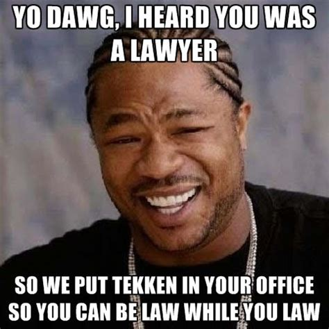 Lawyer Memes - lawyer memes meets video game memes lawyermemes tekken