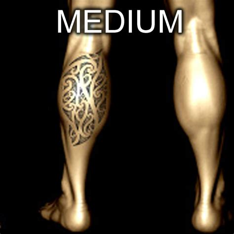 collection of 25 small maori leg tattoo design