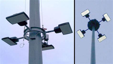 High Mast Lighting Fixtures Cooper Lighting Ventus Led Fixtures Provide Led High Mast Roadway Illumination For