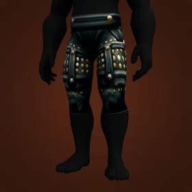 pattern heavy scorpid leggings transmogrification shaman mail legs item model list