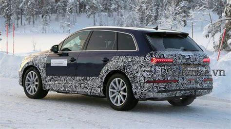 Xe Audi Q7 2020 by Những điểm Mới Tr 234 N Audi Q7 2020 Bản Facelift Dịch Vụ Xe