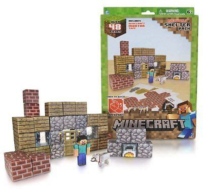 Minecraft Overworld Deluxe Papercraft Pack - minecraft overworld paper craft shelter pack 48 pieces