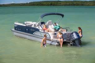 ambassador rear lounge pontoon boat avalon pontoon boats