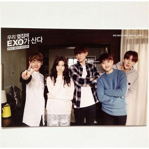 film drama net exo next door k pop exo x line naver web drama exo next door official