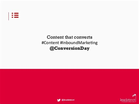 inbound marketing day 2015 a content marketing strategy for a succesful inbound