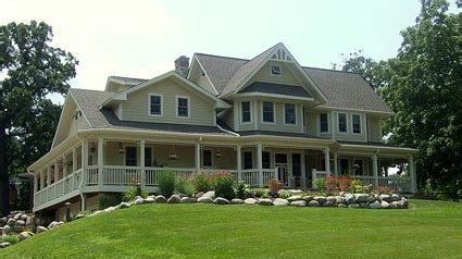 big farmhouse craftsman farm house wrap around porch craftsman floor