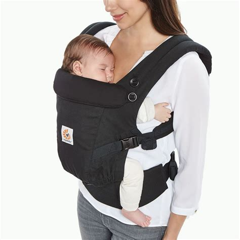 baby carrier baby carrier for newborn black adapt ergobaby