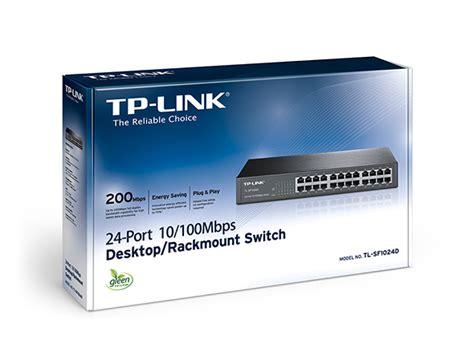 Tp Link Tl Sf 1024m switch con 24 puertos a 10 100 mbps tp link