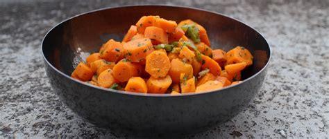salade verte cuite recette cuisine salade cuite de carottes au cumin my beautiful dinner