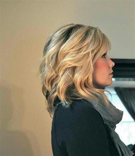 hair style ideas with slight wave in short haartrend 2015 boho waves voor dames met halflang haar