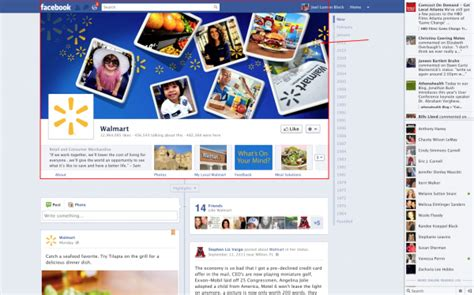 layout banner facebook facebooks new business page design with timeline layout