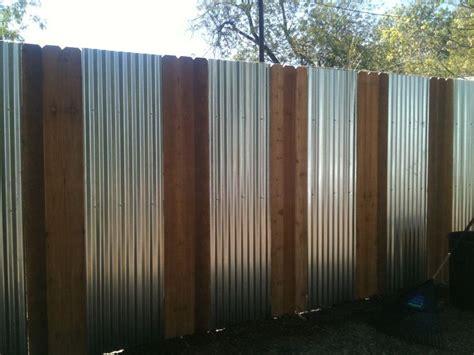 corrugated metal fence ideas trendy metal cedar fence corrugated metal tin roofing showers