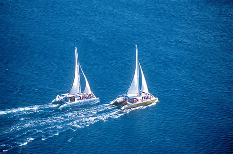 catamaran kingston jamaica montego bay to negril catamaran cruise rum punch party