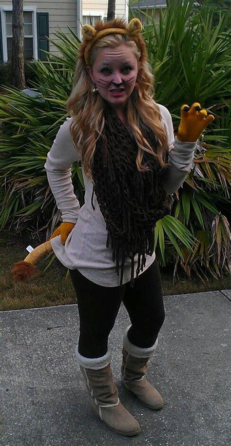 diy simba halloween costume costumes pinterest diy