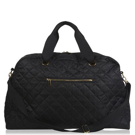 Quilted Weekender Bag by Black Quilted Large Weekender Mixed Bag Designs