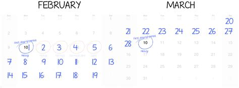 Count Calendar Days How To Count Your Menstrual Cycle The Period