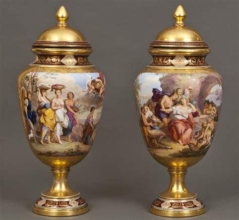 Royal Vienna Vase by Royal Vienna Vases Valentinagallery