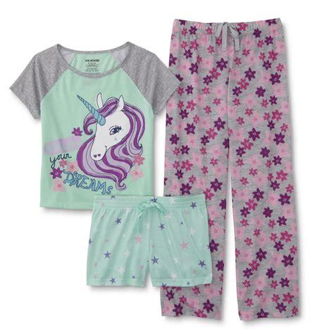 Sanbonnet Shortpants Pajamas joe boxer pajama top shorts unicorn