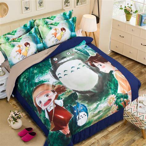 studio ghibli bedding studio ghibli my neighbor totoro 3d japanese anime