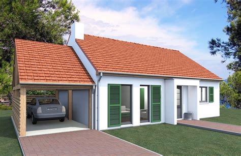 Carport Construction Plans couleur maison construction petite maison de plain pied