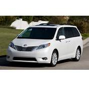 Toyota Releases 2012 Sienna Features And Pricing  TrueCar Blog