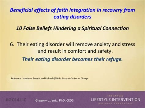 how to comfort someone with an eating disorder dr gregory jantz lifestyle intervention conference 2014