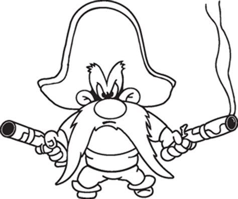 yosemite sam decal cartoon characters cartoons