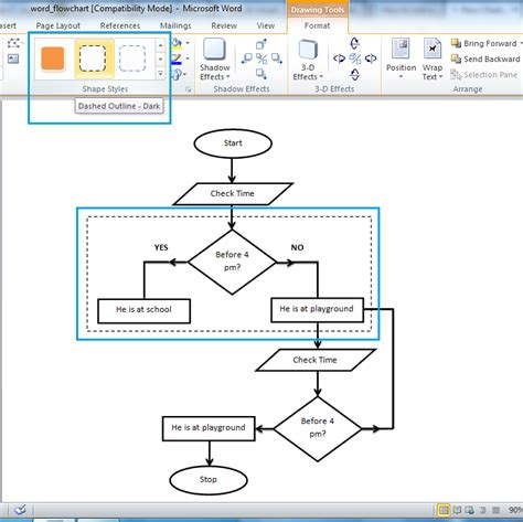 drawing flowchart in word drawing flowchart in word 28 images how to create