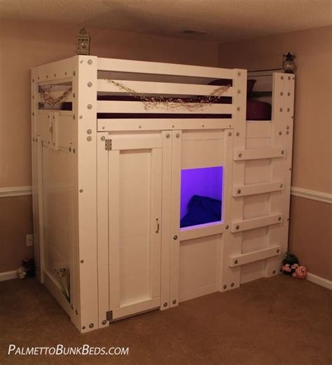 loft bed with storage twin size loft bed with storage palmetto bunk beds