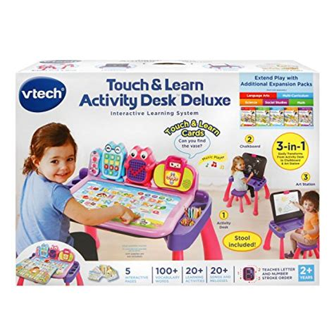 vtech touch and learn activity desk deluxe pink vtech touch and learn activity desk deluxe pink ebay