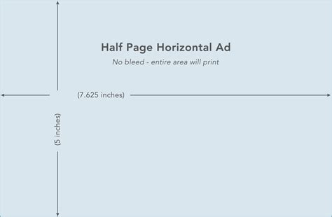half page ad template equine collectibles half page ad