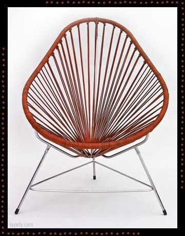 Acapulco chair 183 leather lapety com acapulco golden age pinterest