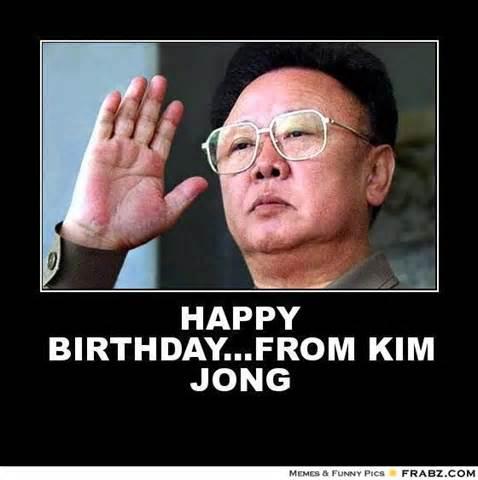 Offensive Birthday Meme - funny happy birthday kim meme