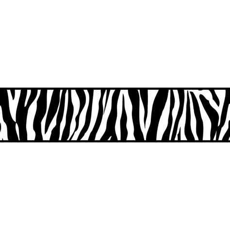 Zebra Wallpaper Border For Bedrooms by Decor Ceramica Zebra Animal Print Self Adhesive