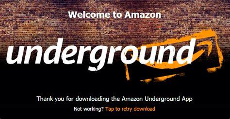 amazon underground apk amazon underground จ ดหน กปล อยแอพฟร ส google play