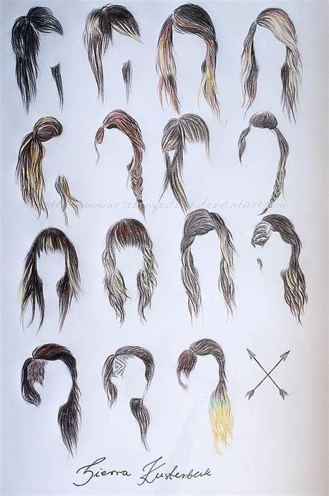 art drawing hair image 602606 on favim com
