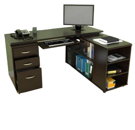 computer desk with keyboard tray and storage l shaped computer desk with keyboard tray l shaped