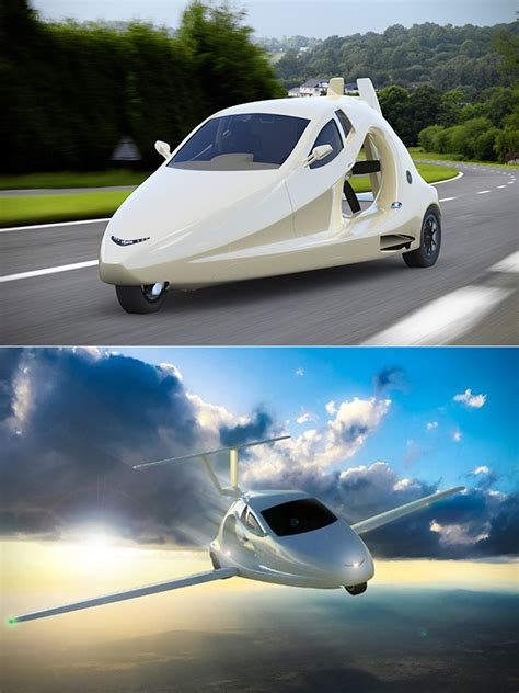 Garage Flying Car by Switchblade Flying Car Is Small Enough To Be Stored In