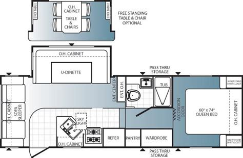 puma 5th wheel floor plans 2012 palomino puma 253fbs fifth wheel owatonna mn noble
