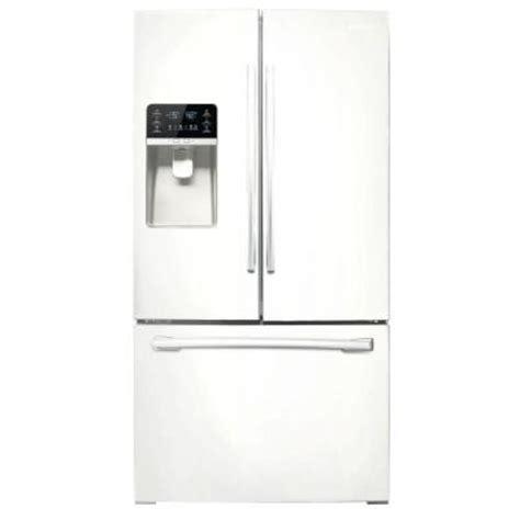 samsung door refrigerator home depot samsung 30 5 cu ft door refrigerator in white