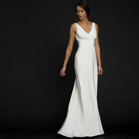 Plain Wedding Dresses by Plain White Wedding Dress Fashion Belief